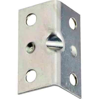 National Catalog V113 Series 1-1/2 In. x 3/4 In. Zinc Corner Brace (4-Count)