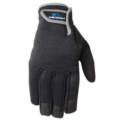 Wells Lamont Age 7 to 12 Synthetic Leather Hi Dexterity Kid's Glove