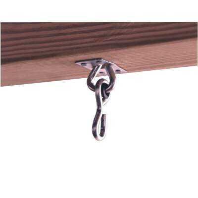 Swing N Slide Zinc-Plated Steel Swing Hangers (2-Pack)